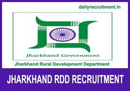 RDD Jharkhand Recruitment