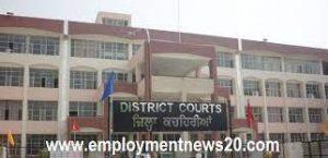 Jalandhar District Court Recruitment